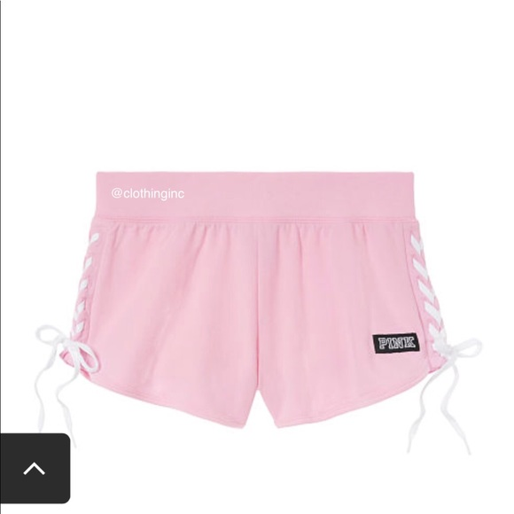 """PINK Victoria's Secret Pants - VS Pink """"Pink"""" Shorts Only; New in Package"""